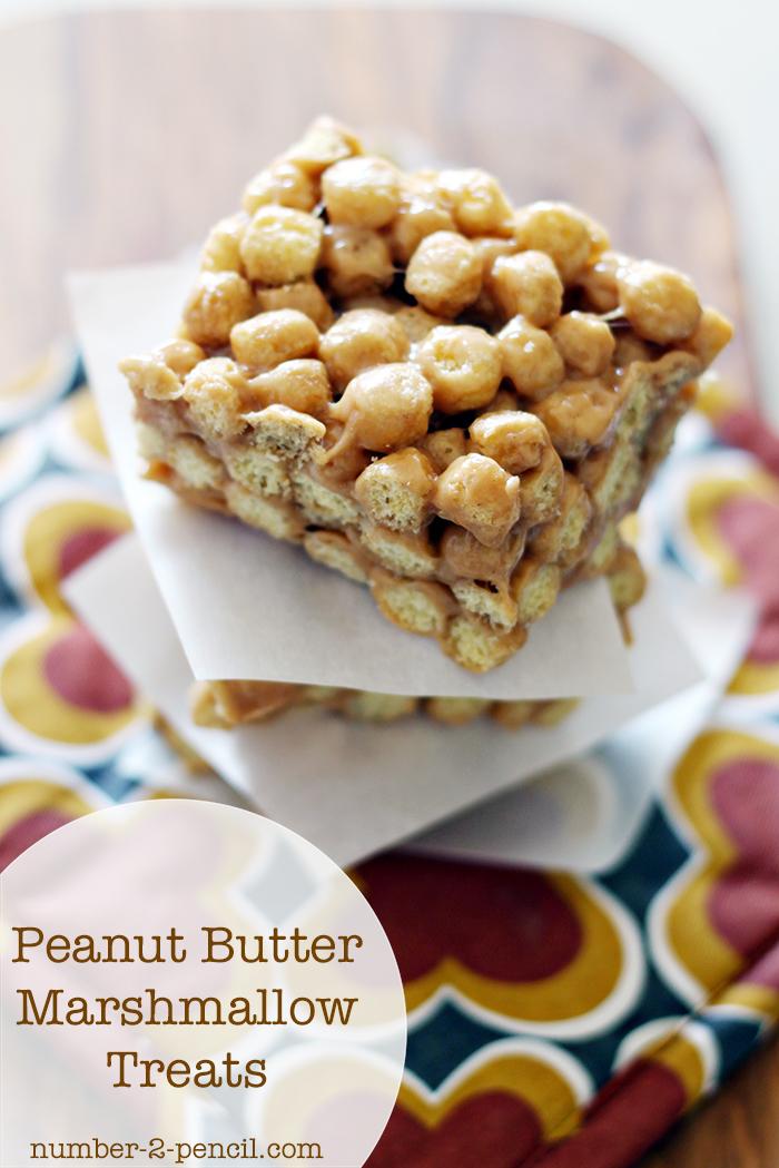 peanut marshmallow treats