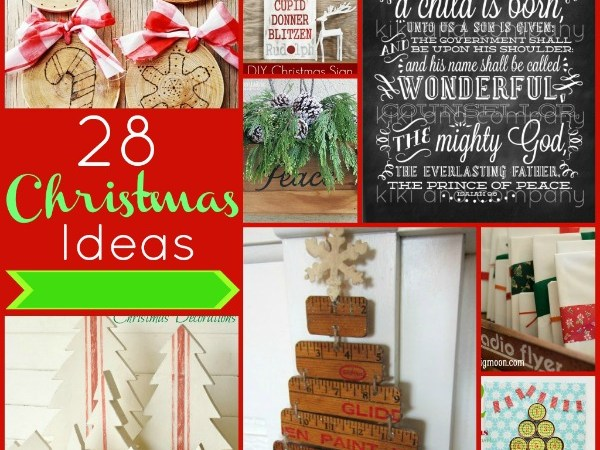 Great Ideas — 28 Festive Christmas Projects