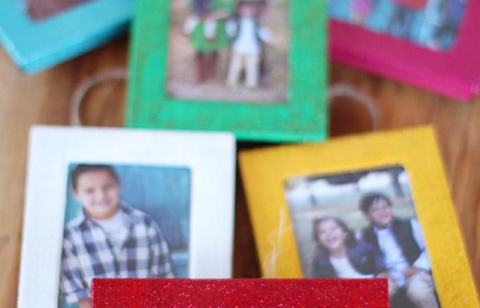 HAPPY Holidays — DIY Photo Christmas Ornaments
