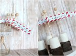 Happy Holidays — Hot Chocolate on a Stick Recipe and FREE Printable!