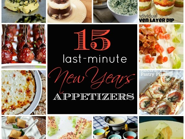 15 Last-Minute New Year's Party Appetizers!