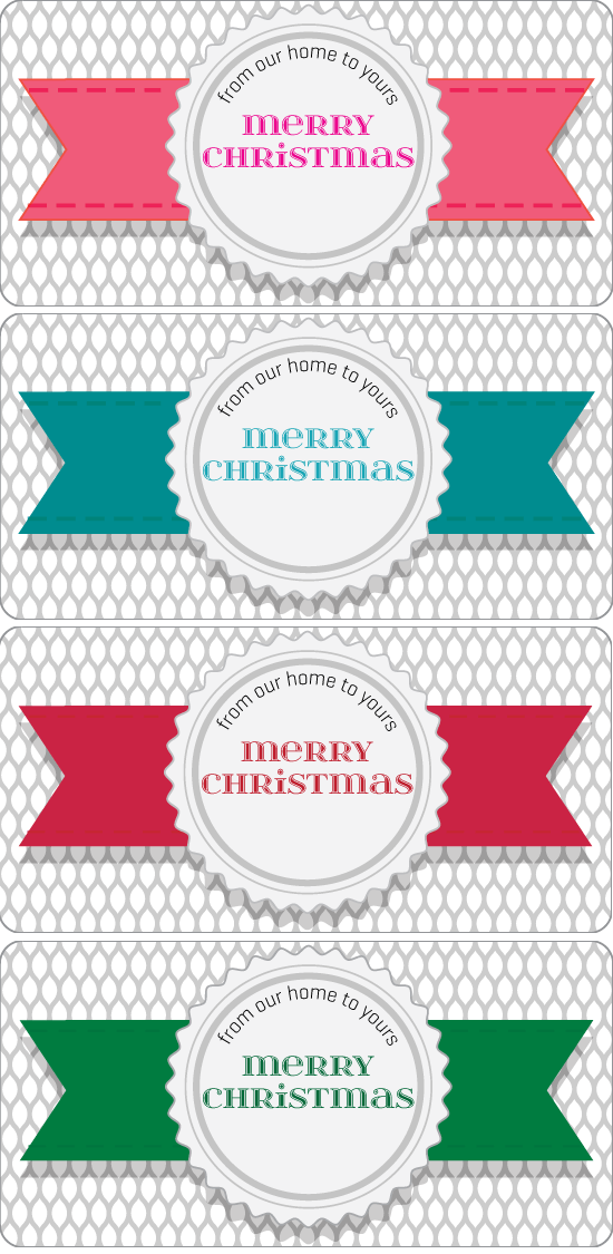 Free Printable Holiday Tags For Mini Loaf Pans