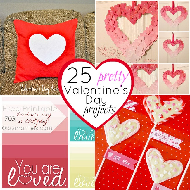 25 Valentines Decorations: 25 Pretty Valentine's Day Projects To Make