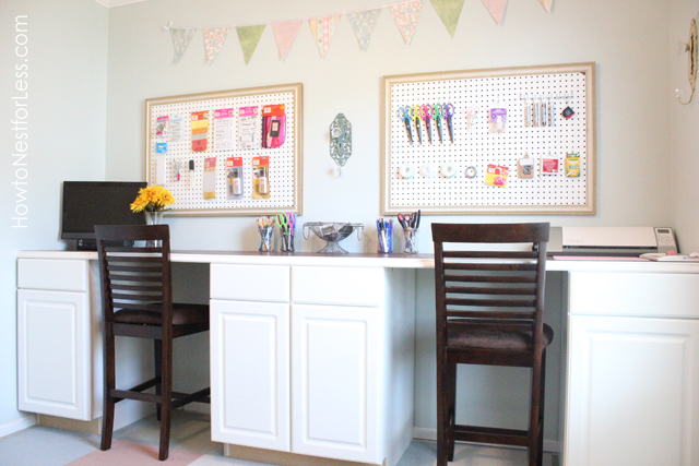 Craft Room Makeovers: 45 Amazing DIY Projects