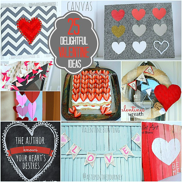 25 Valentines Decorations: 25 Delightful DIY Valentine's Day Projects