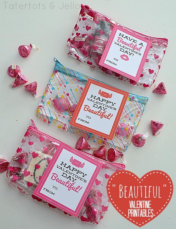 """Beautiful"" Valentine's Day Printables - Tween or Teen ..."