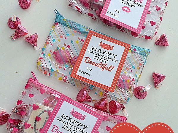 """Beautiful"" Tween or Teen Valentine Gift Idea and Free Printables!"