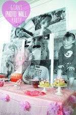 Ella's Special Day and How to Create a Giant Party Photo Wall!