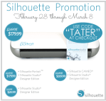 GIANT Chalkboard Calendar Wall and Silhouette Giveaway! ($250 value)