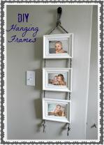 DIY Hanging Frames Tutorial!