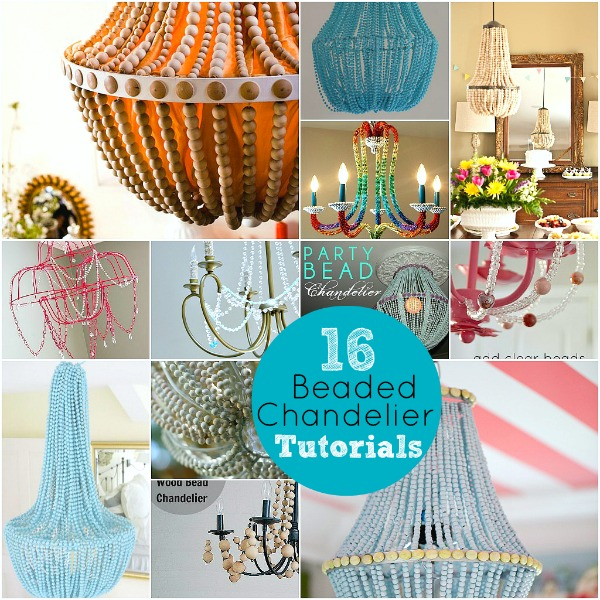 16 beaded chandelier tutorials