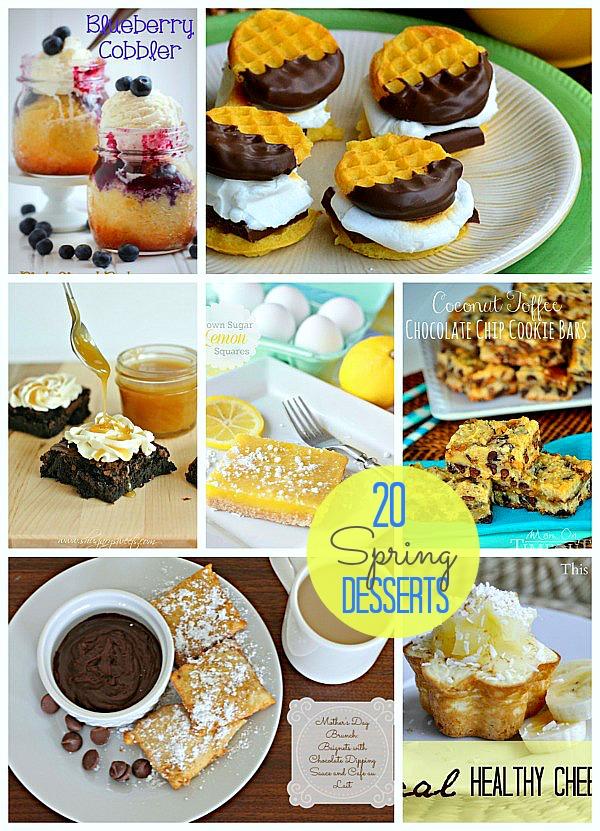 20 spring desserts