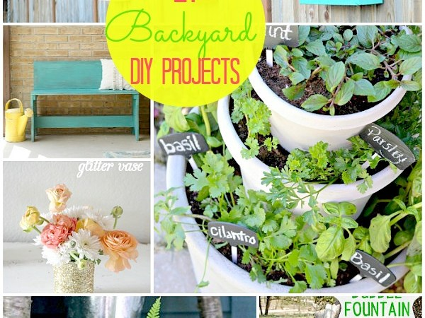 Great Ideas — 21 Backyard Projects for Spring!!