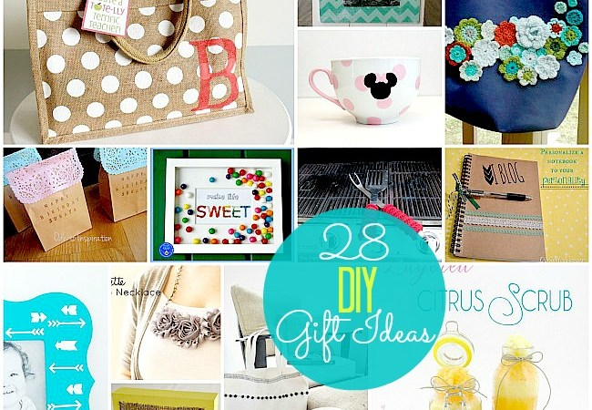 Great Ideas — 28 Beautiful DIY Gift Ideas!