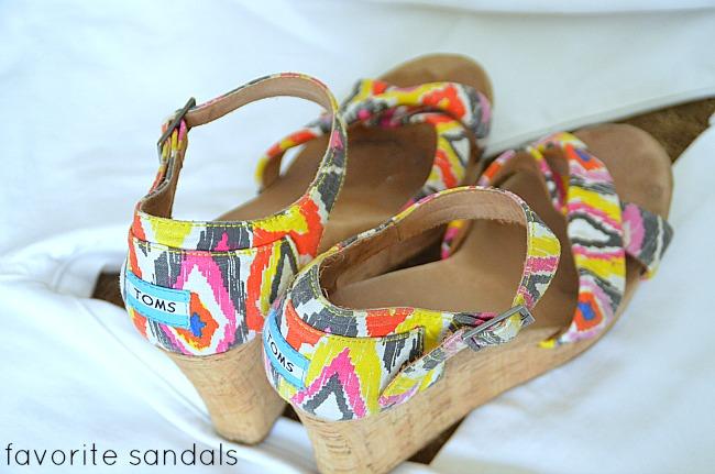 favorite sandals