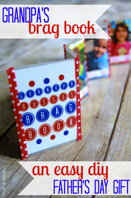 Great Ideas -- DIY Father's Day Gift Ideas!!
