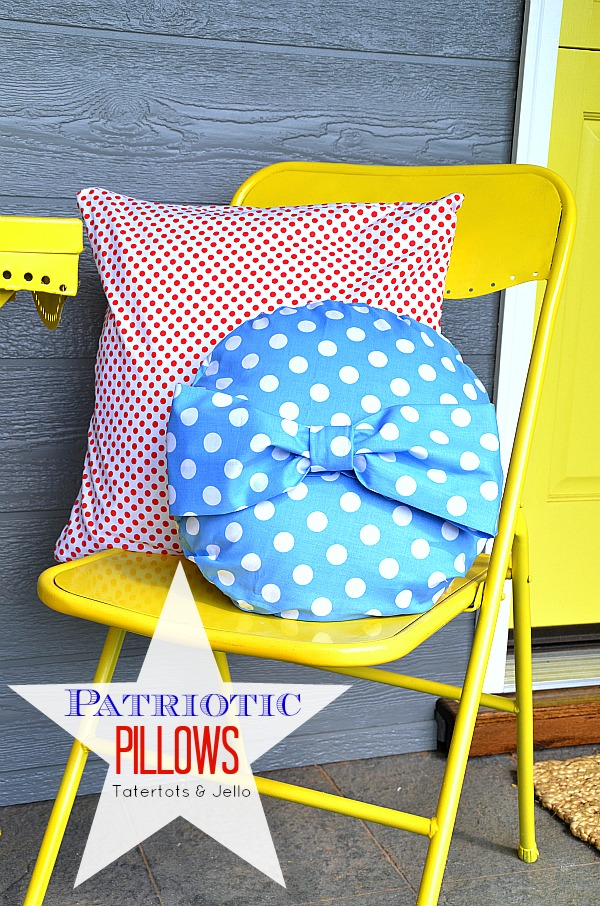 patriotic pillows from tatertots and jello