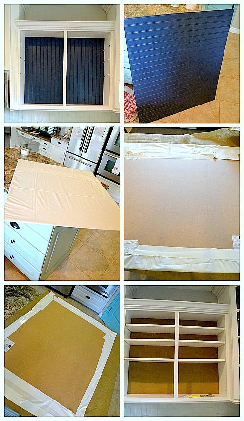 summer open shelves collage