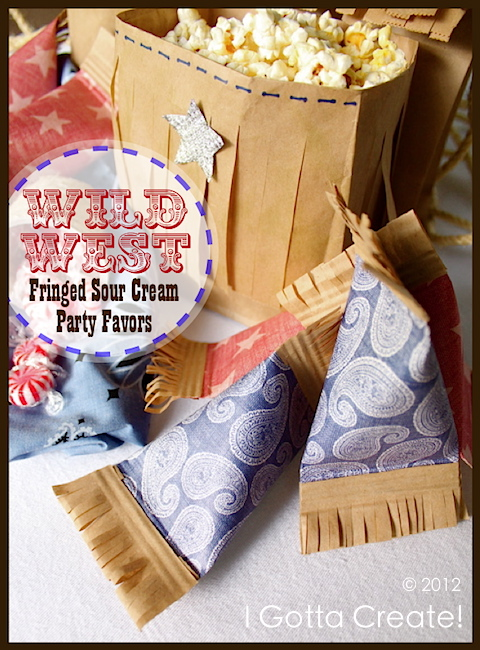 Fourth of July Wild West Party Favors