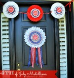 Patriotic Door Medallions (Free Printables) and I Love The USA Blog Hop!