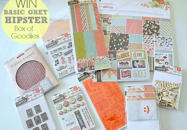 Weekend Wrap-Up Party — and BasicGrey Hipster Box Giveaway