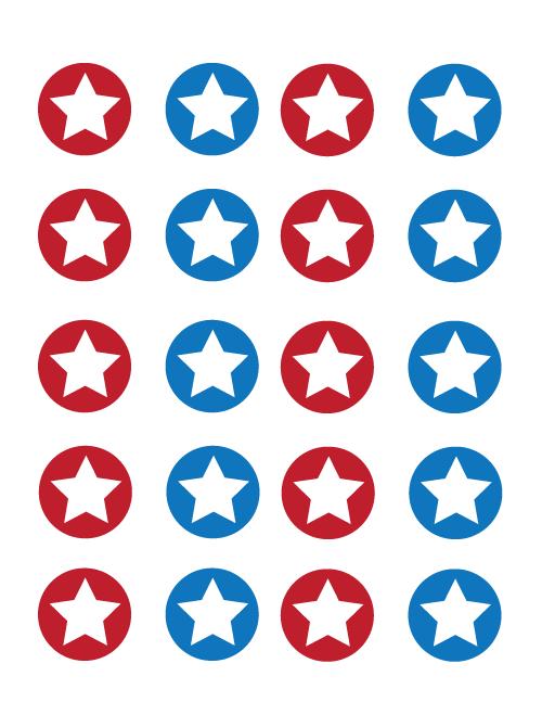fourth-of-july-striped-rosette-medallions---centers---tatertotsandjello.com---red---blue