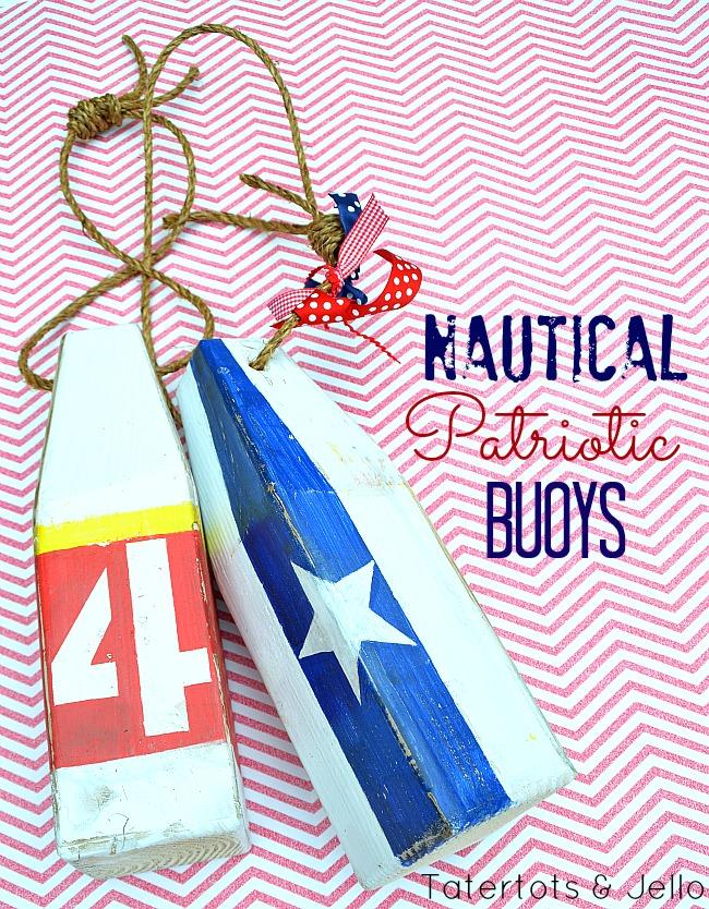 patriotic buoys