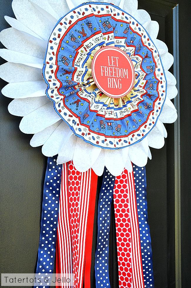 patriotic door medallions