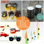 20 Summertime Kids Crafts!