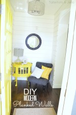 DIY How To Make Modern Planked Walls #1905Cottage