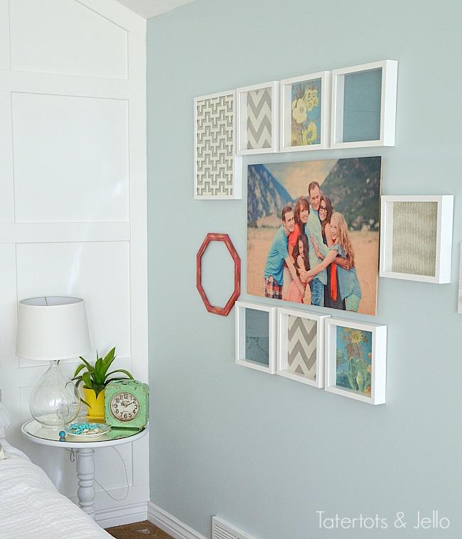 Best family gallery wall wood wall art