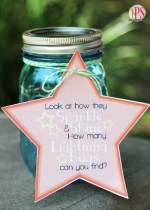 DIY Lightning Bug Catching Jars and Free Printables!