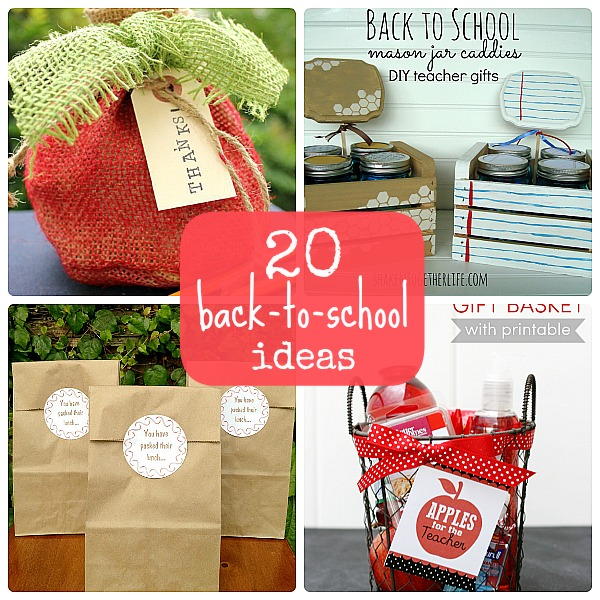 20 Back-to-School Ideas