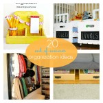 Great Ideas — 20 End-of-Summer Organization Projects!