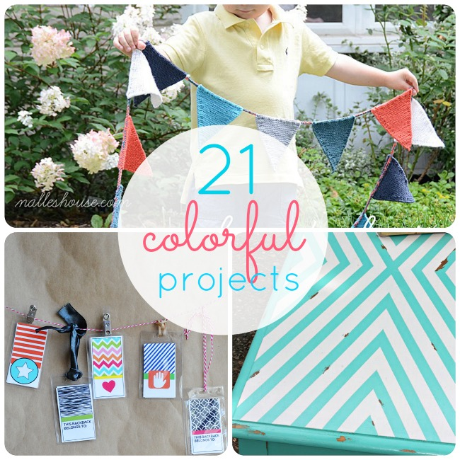 21 colorful projects