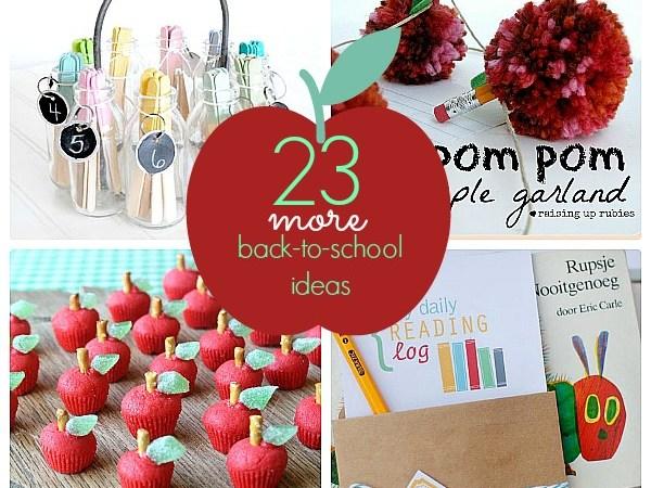 Great Ideas — 23 Back To School Ideas (part 2)