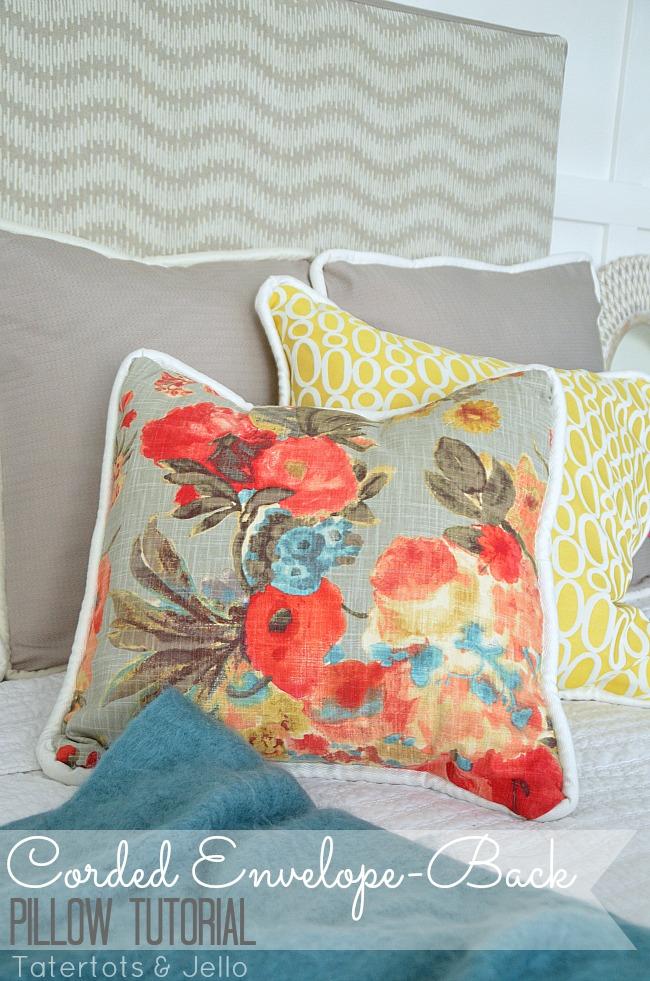 corded envelope back pillow tutorial DIY & How to Make Easy Envelope-Back Pillow Covers (with Cording ... pillowsntoast.com