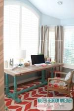 Master Bedroom Details: Make a Cozy Office Nook!