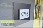 #1905Cottage – New Address Plaque!!