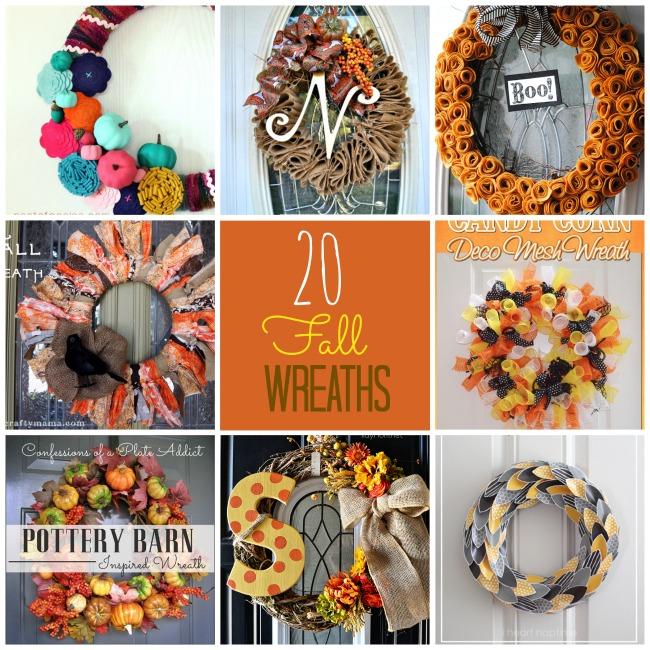 20 DIY Fall Wreath Ideas