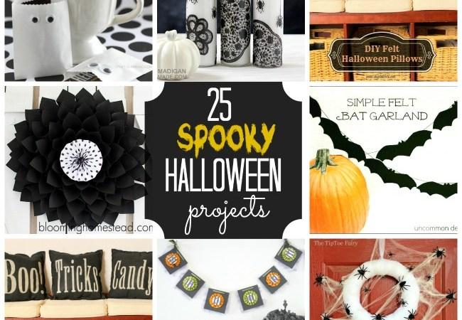 Great Ideas — 25 Spooky Halloween Projects!