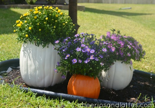 Fall-Pumpkin-Flower-Planters-2-520x364