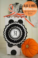 Free Halloween Treat Popcorn Box & Medallion Printables (And Win a $100 Disney Gift Card!)