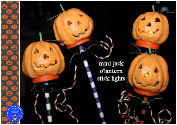 mini jack o lanterns
