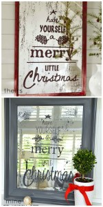 Pottery Barn Christmas Mirror Knock-Off Project!