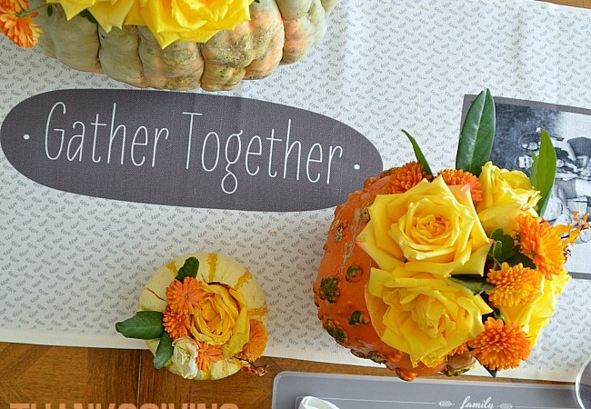 Thanksgiving Tablescape and Free Printables!