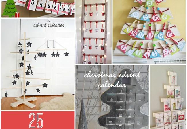 Great Ideas — 25 Advent Calendars and Ideas!