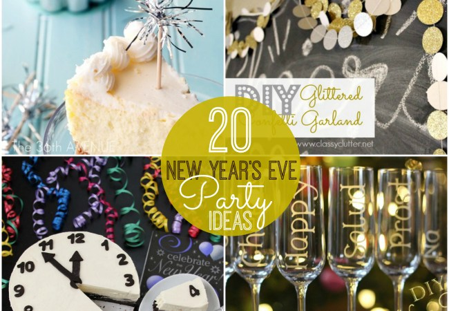 Great Ideas — 20 Rockin' New Year's Eve Party Ideas!
