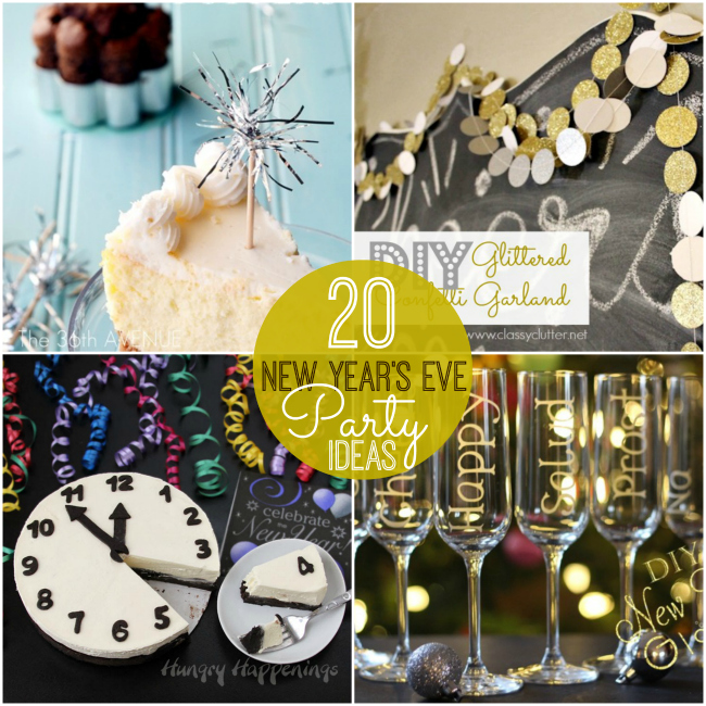 Great Ideas -- 20 Rockin' New Year's Eve Party Ideas!