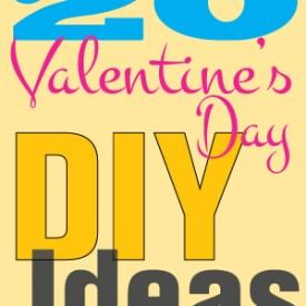 Great Ideas — 20 Valentine's Day DIY Ideas!!